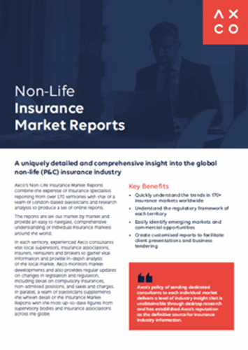 Downloads Insurance Market Reports Non Life