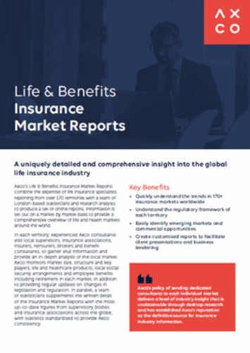 Downloads Insurance Market Reports Life